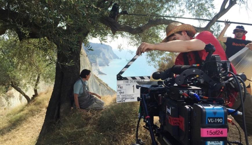 filming_in_corfu